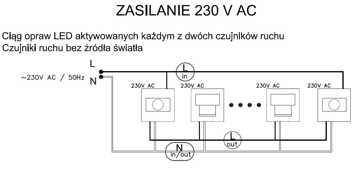 Montaż Opraw Music Line I Sensor I Light Skoff24pl