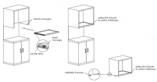 Półka meblowa SOLUM